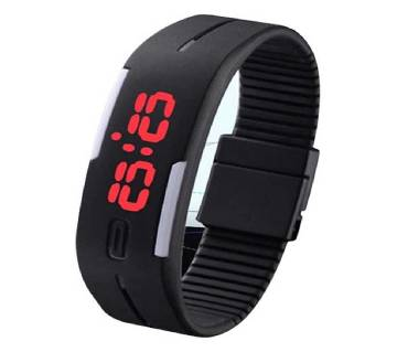 Combo Silicon Led Sports Watch - 2PCs