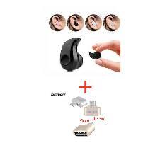 MINI BLUETOOTH Earphone+Remax OTG Converter Combo Offer