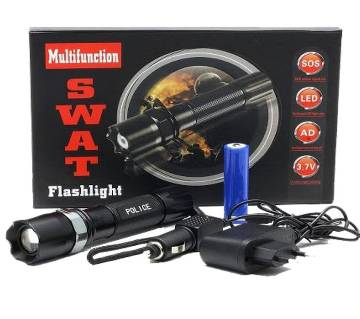 Swat Rechargeable Flash Light