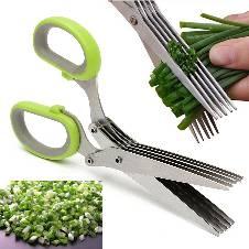 5 Layer Stainless Steel Kitchen Scissor