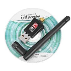 Wireless N usb adaptor with Antenna 150Mbps
