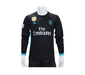 Real Madrid Away Full Sleeve Jersey