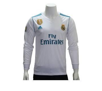 Real Madrid Home Half/Full Sleeve Jersey