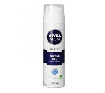 NIVEA FOR MEN Sensitive Shaving Gel Thailand
