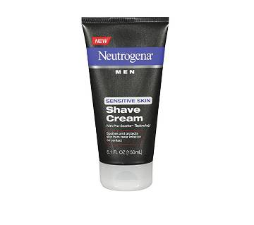 Neutrogena Men Sensitive Skin Shave Cream USA