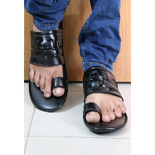 Mens Leather Casual Sandal