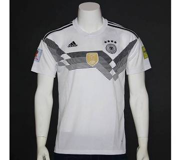 Germany Home Half Sleeve Jersey World Cup 2018