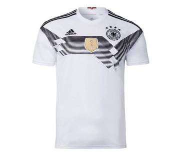 Germany Home হাফ স্লিভ জার্সি World Cup 2018
