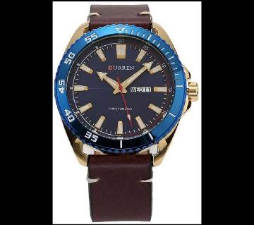 Curren Casual Watch 8272 Golden Blue