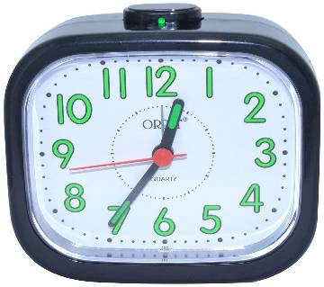 Orpat Beep Alarm Clock TBB-127 - Black