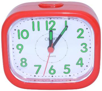 Orpat Beep Alarm Clock TBB-127 - Red