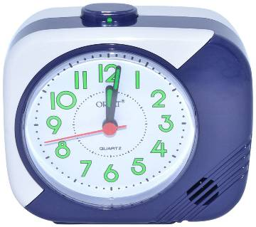 Orpat Beep Alarm Clock TBB-207 - Blue