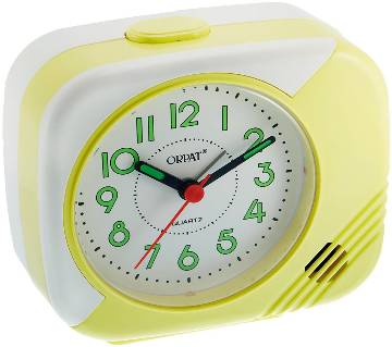 Orpat Beep Alarm Clock TBB-207 - Yellow