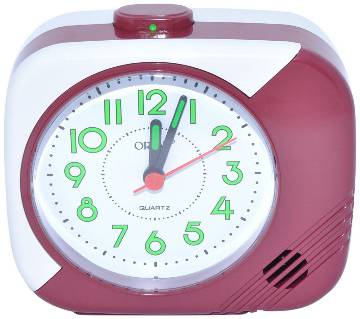 Orpat Beep Alarm Clock TBB-207 - Brown