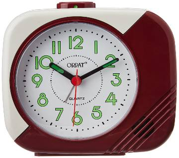 Orpat Beep Alarm Clock TBB-207 - Maroon