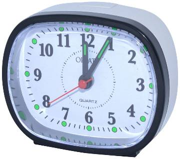 Orpat Beep Alarm Clock TBZL-607 - Black