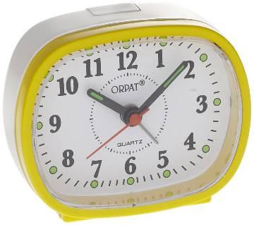 Orpat Beep Alarm Clock TBZL-607 - Yellow