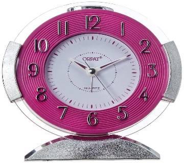 Orpat Beep Alarm Clock TBB-427 - Pink