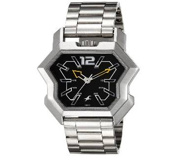Fastrack 3125SSA Analog Black Dial Watch for Men