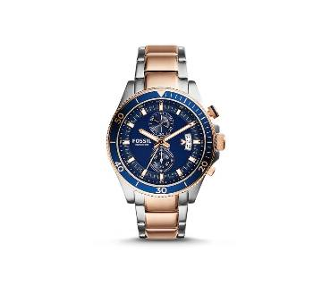 Fossil Wakefield Chronograph Blue Dial Watch