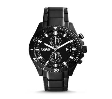 Fossil Wakefield Chronograph Black Dial Watch