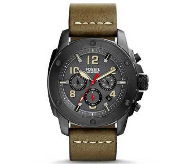 Fossil Machine Chronograph Grey Dial Watch