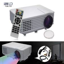 Mini LED Projector RD-805A With TV