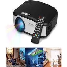 Cheerlux C6 Mini LED Projector With TV