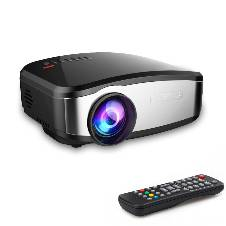 Cheerlux C6 Mini WIFI LED Projector With TV