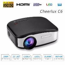C6 Mini LED Multimedia TV Projector