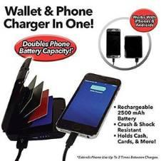 E-Charge ওয়ালেট ফোন চার্জার