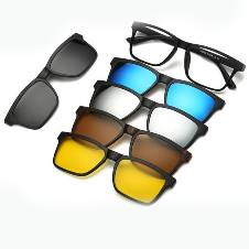 6 in 1 Polarized Magnetic Sunglasses
