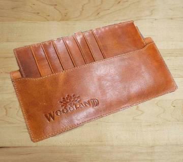 Wood Land লেদার ওয়ালেট