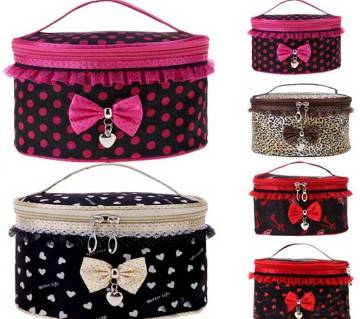 Bow Cosmetic Storage Bag