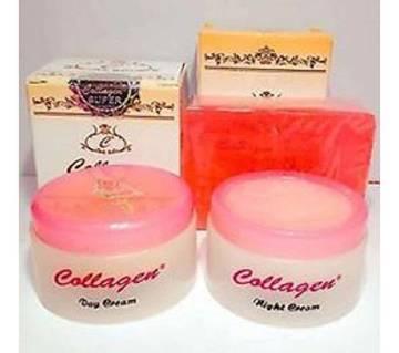 Beauty Soap & Cream Set (Collagen) Indonesia