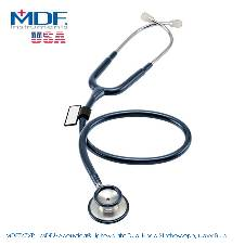 MDF Acoustica Lightweight Dual Head স্টেথোস্কোপ, Navy Blue