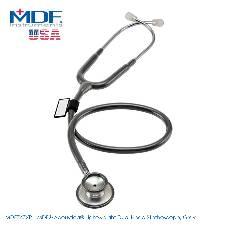 MDF Acoustica Lightweight Dual Head স্টেথোস্কোপ, Gray