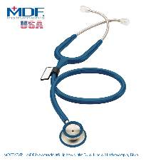 MDF Acoustica Lightweight Dual Head স্টেথোস্কোপ, Blue