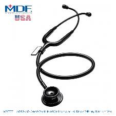 MDF MD One Dual Head স্টেথোস্কোপ, All Black Edition, Stainless Steel