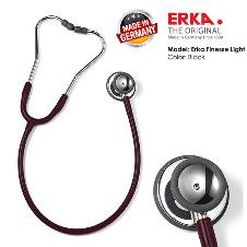 ERKA. স্টেথোস্কোপ, FINESSE LIGHT, Burgundy