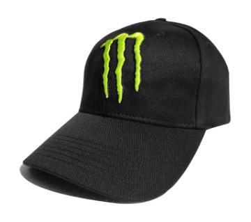 Monster ডেনিম Baseball ক্যাপ ফর মেন - ব্ল্যাক