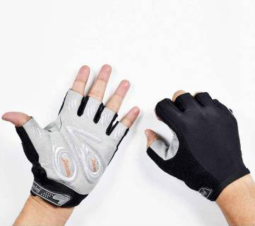 Black And Whita Hand Gloves