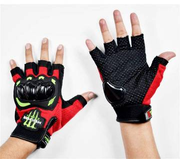 Red And Black Monster Gloves