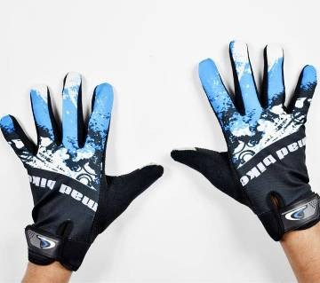 Black And White Sports Gloves For Men