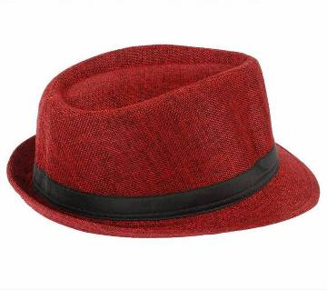 Red China Cotton Hat For Men