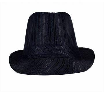 Black China Cotton Hat For Men