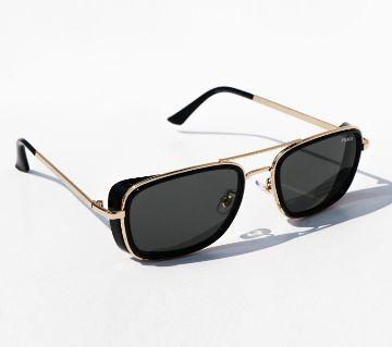Prada Black And Gold Stylish Metal Body Sunglasses