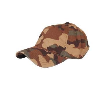 Multi Color Army Cotton Cap For Men
