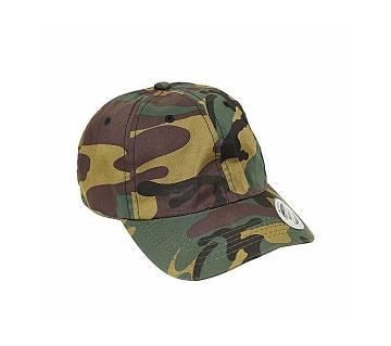 Multicolor Denim Army Cap For Men