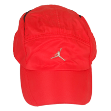 Red Polyester Cap For Men
